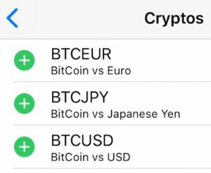 仮想通貨取引(ビットコインFX)ができる海外FX業者