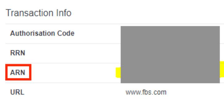 fbsから三井住友カードのarn番号をもらう