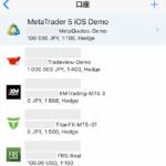 MT5の海外FX業者一覧(スマホアプリ)