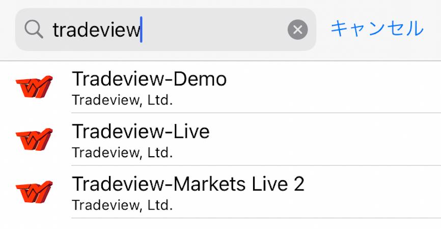tradeviewのmt4サーバーを選ぶ