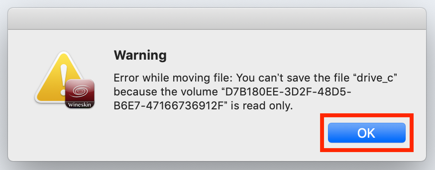 macのmt4実行時の警告文