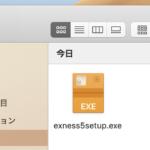 exnessのWindows用MT5