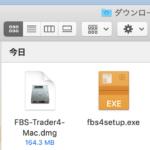 fbsのmt4(WindowsとMac)