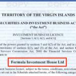 アイフォレックスの金融ライセンス